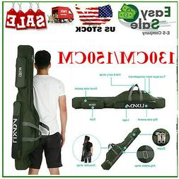 130/150cm Portable Folding Fishing Rod Reel Bag Lixada Trave