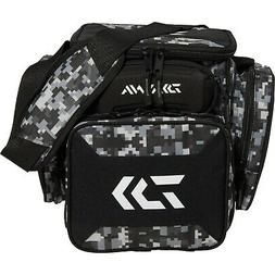 Daiwa D Tec Tactical Tackle Bag Box - Digital Black Camo Inc