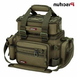 Fishing Bag Large Capacity Portable Multi Compartment Tackle