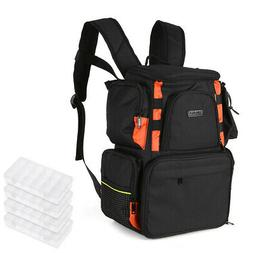fishing tackle bag backpack lures bait box