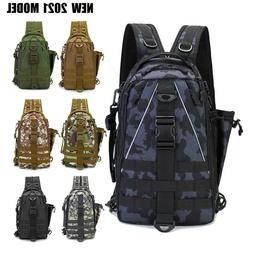Fishing Tackle Bag Pack Waterproof Outdoor Hiking Backpack C