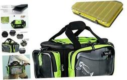 fishing tackle storage bag with large clear