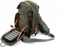 Fly Fishing Sling Bags Chest Pack Lightweight Fishing Tackle