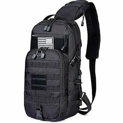 G4Free EDC Bag Tactical Sling Bag Fishing Tackle Molle Chest