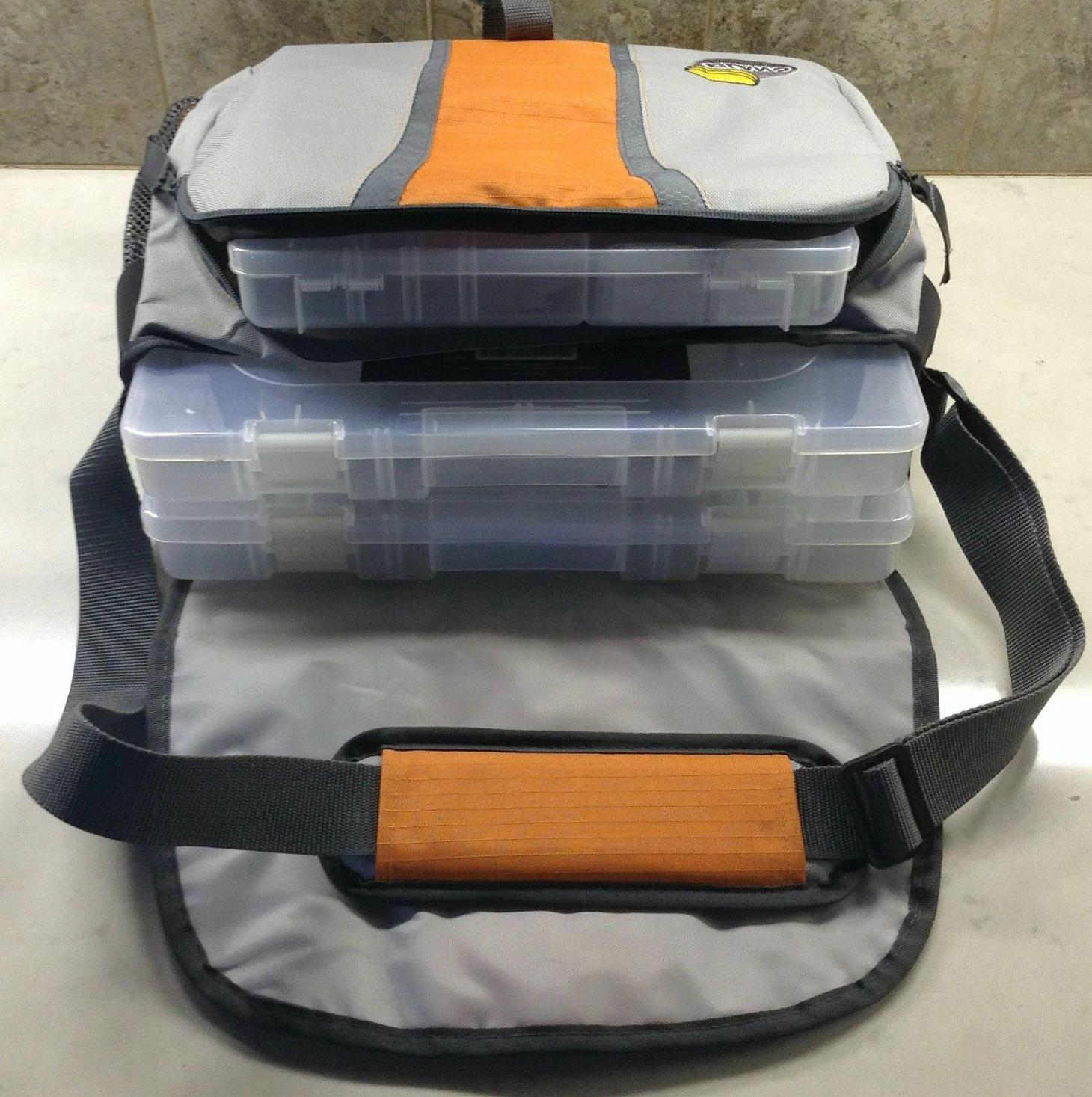 PLANO Tackle Lures Carry Bag 3 StowAway Storage Boxes