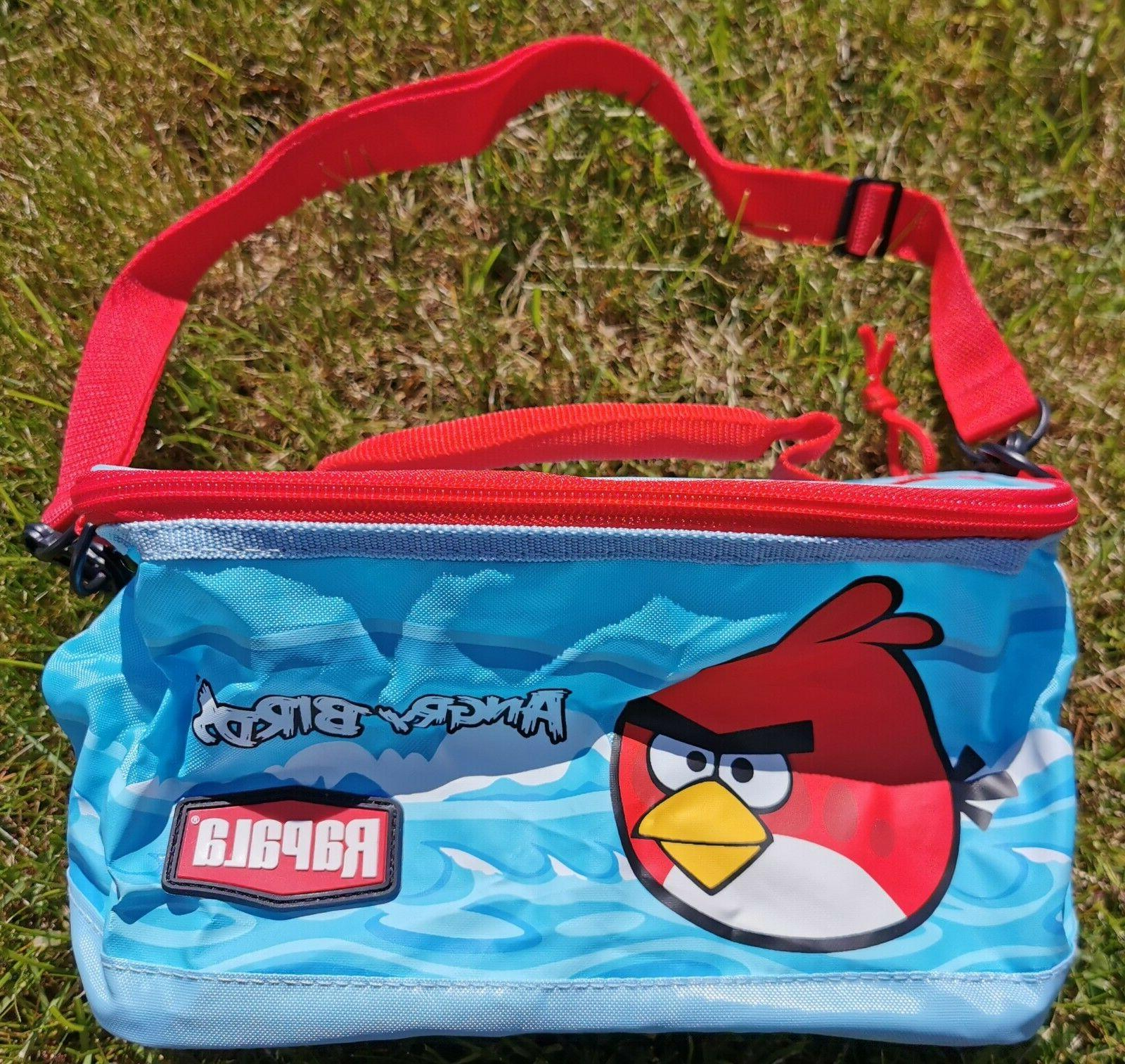 angry birds kids fishing tackle bag
