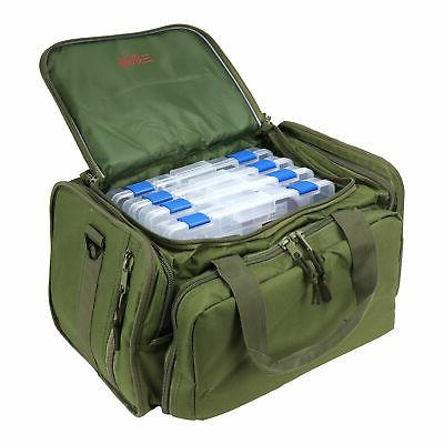 Osage Deluxe Bag with 4 Tackle Box Fishing