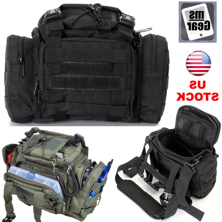 fishing accessories tactical bag fly tackle shoulder