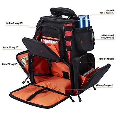 Fishing Tackle 4 Trays Tackle Bag