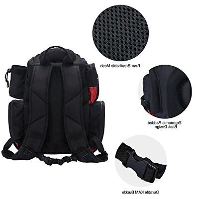 Fishing Backpack with 4 Tackle Bag