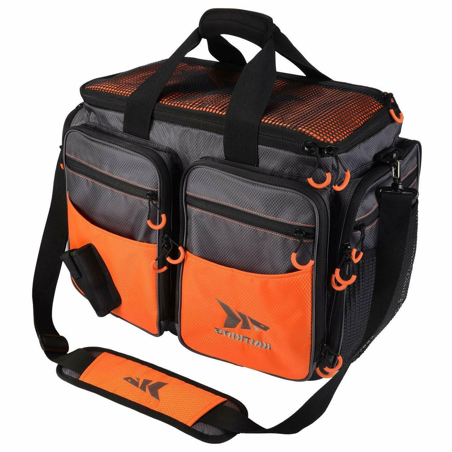 fishing tackle bags saltwater and freshwater nylon