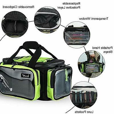 Fishing Tackle Storage Bag with Water Resistant