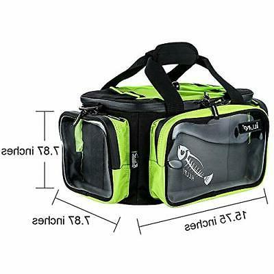 Fishing Bag with Clear Pockets, Water