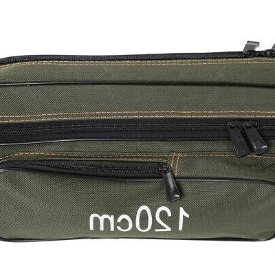 Folding Canvas Pole Tool Bag Case 2Layer