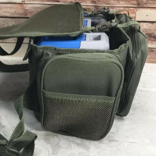 HS Fishing Bag/backpack New & Box With Bait