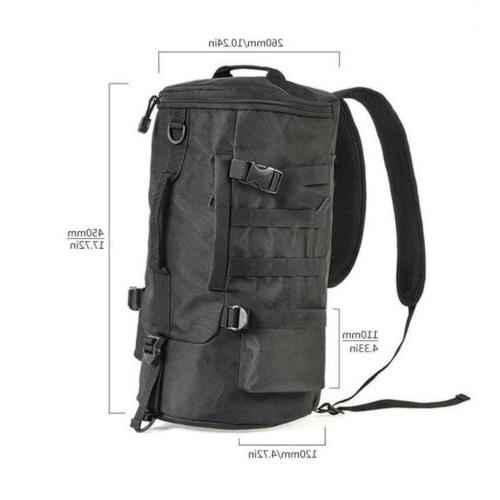 Large Capacity Backpack Tackle &Rod Storage Bag Outdoor Camping