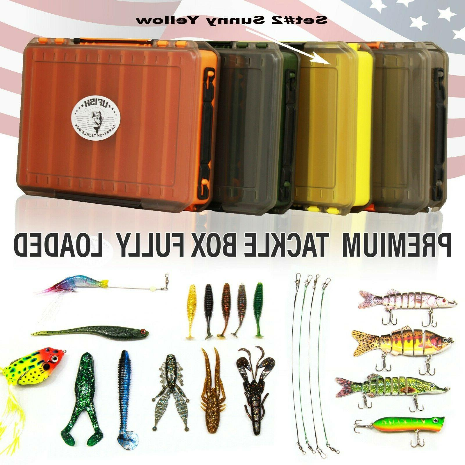 UFISH Full with Fishing Lures