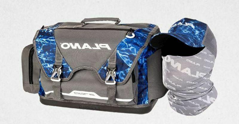 mossy oak 3700 tackle bag with hat