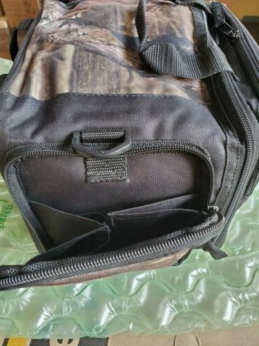 Mossy heavy duty angler' tackle Bag Fishing Gear Includes Boxes