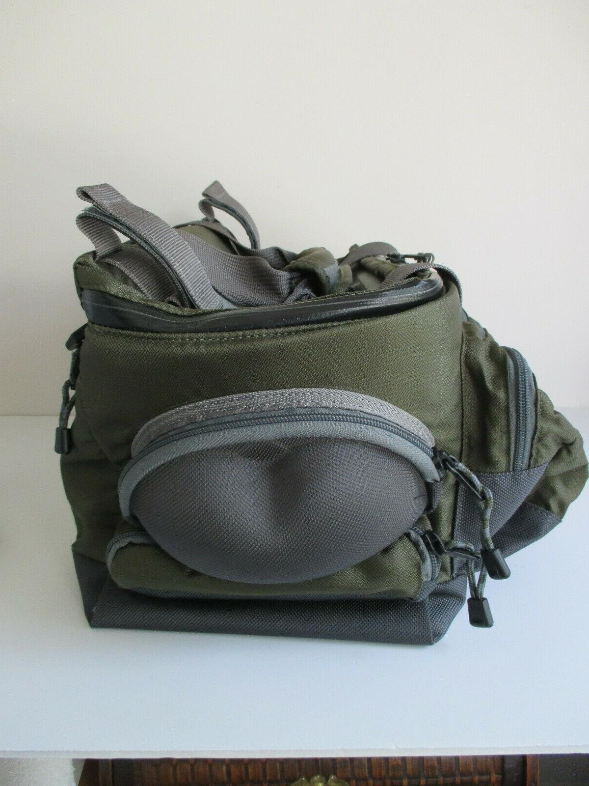Orvis Multi-Pocket with Strap Green Nylon / USED