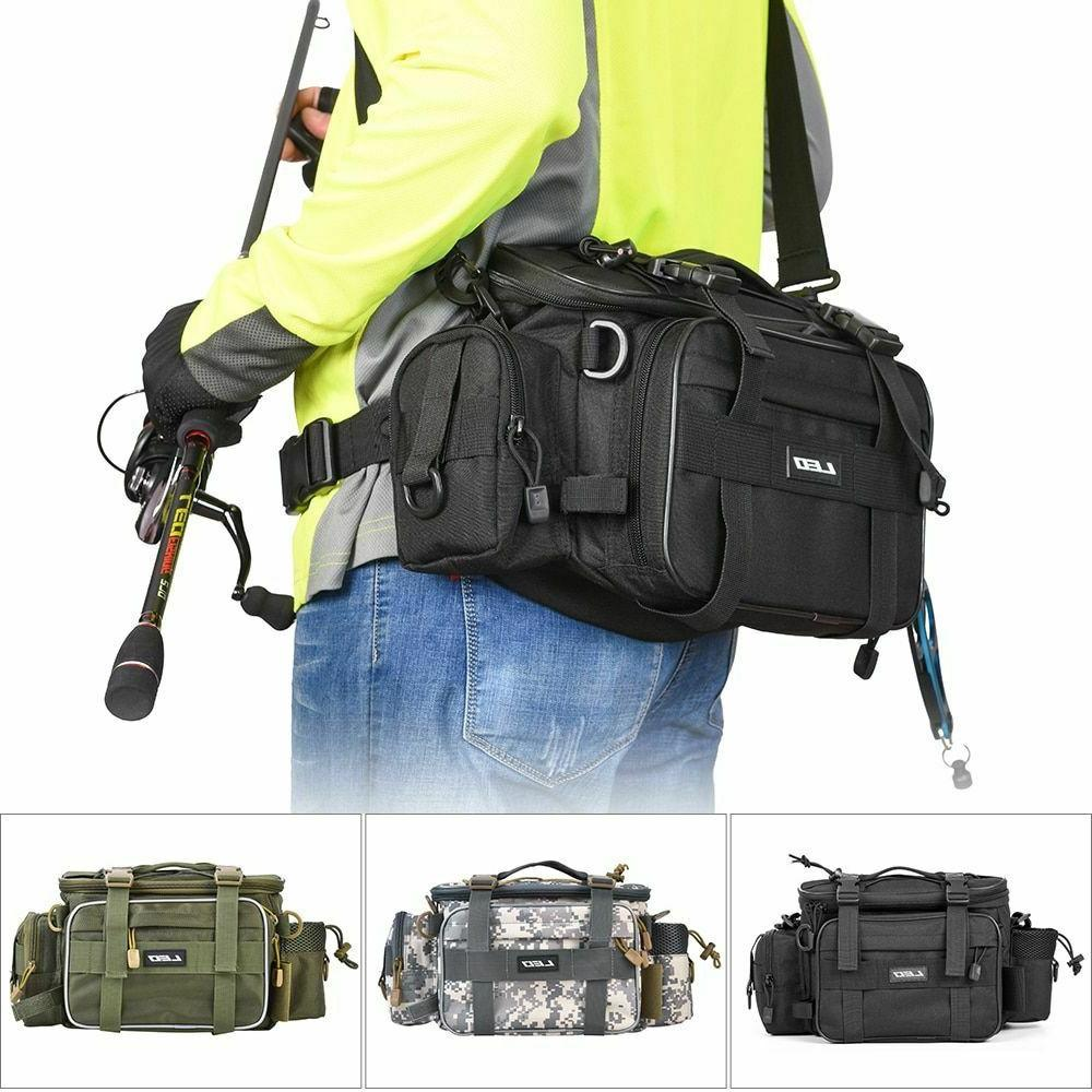 multifunctional fishing tackle bags outdoor sports waist
