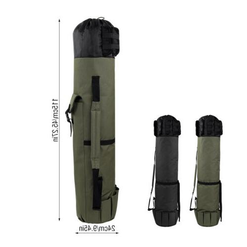Fishing Case Carry Shoulder Tackle Tube Portable USA