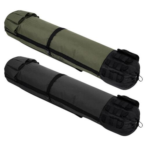 Fishing Rod Case Carry Tackle Tube Portable Travel Holder USA