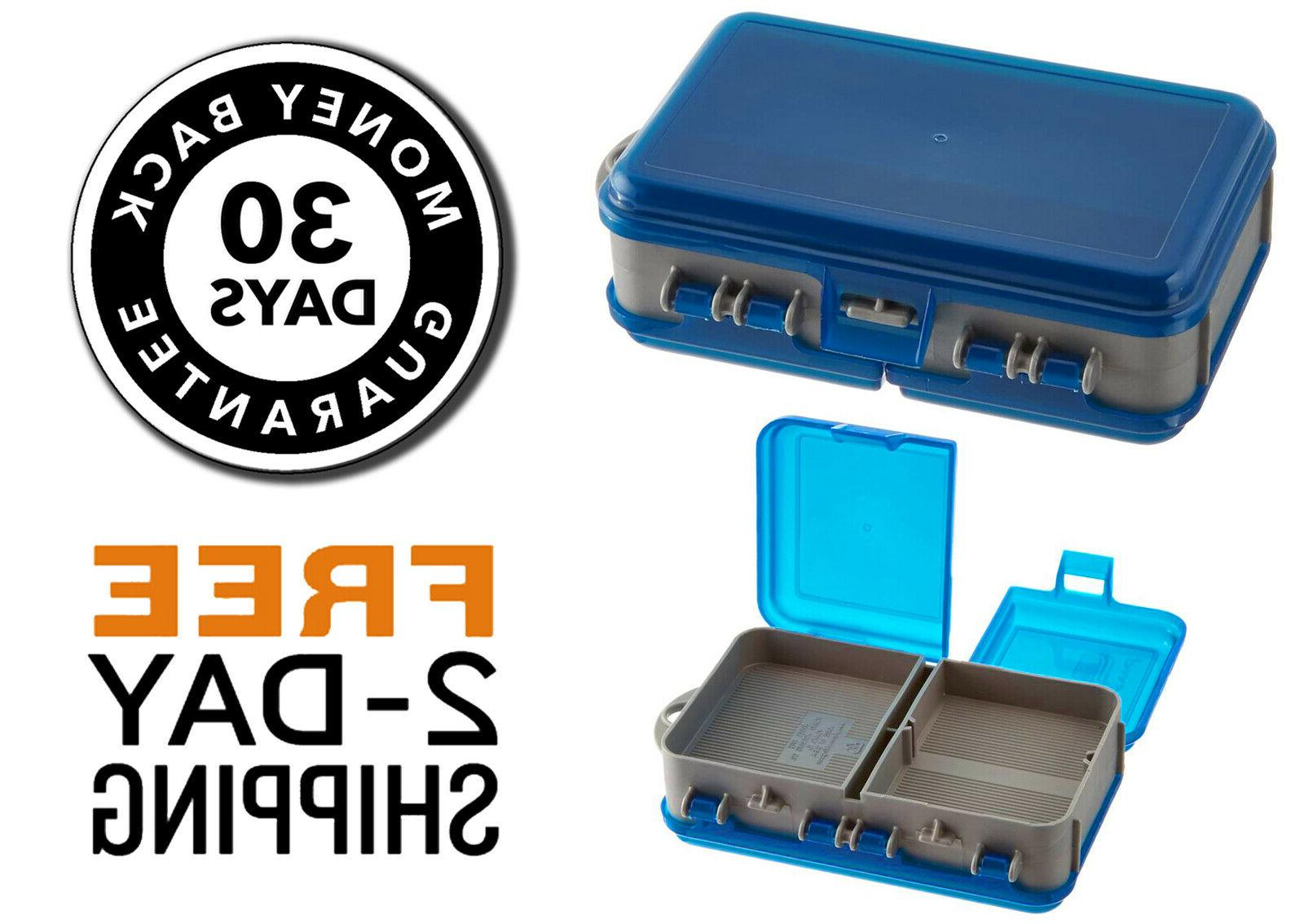 plano large 2 sided fishing tackle boxes