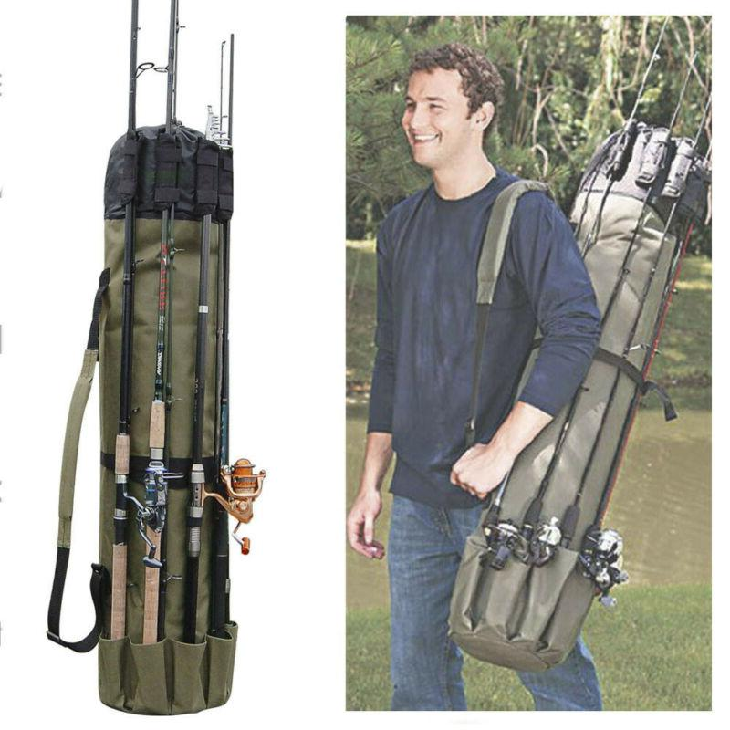 Portable Fishing Carrier Gear Tackle Bag Case NEW
