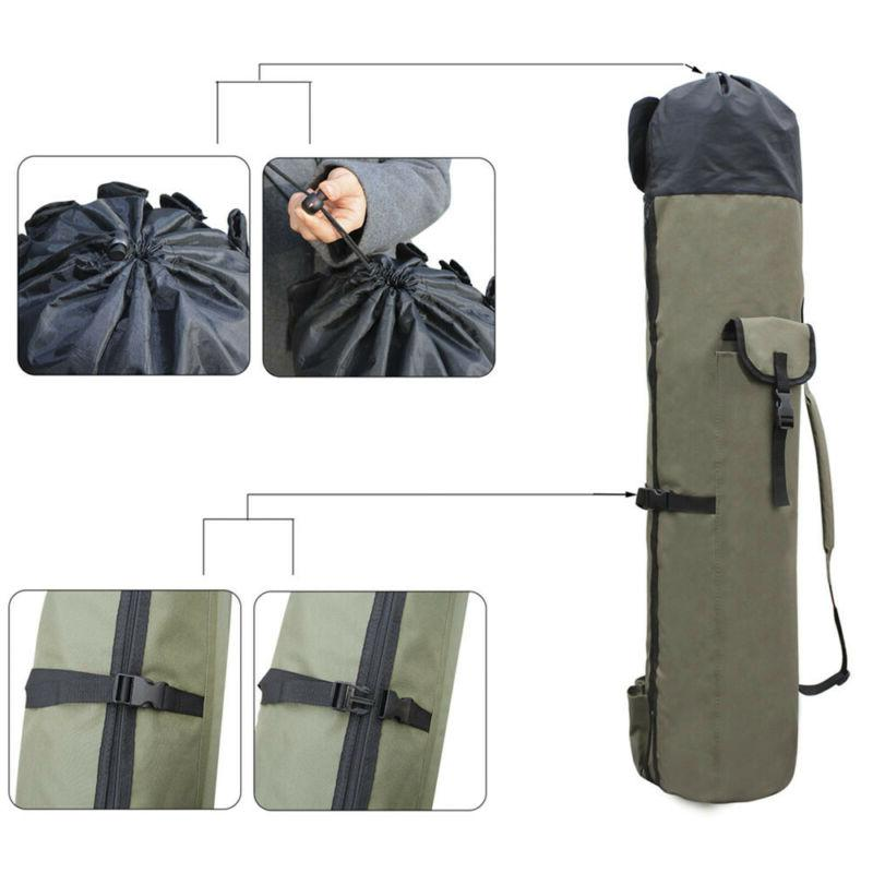 Portable Fishing Carrier Canvas Tools Gear Bag NEW