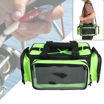 portable fishing tackle bag backpack camping case
