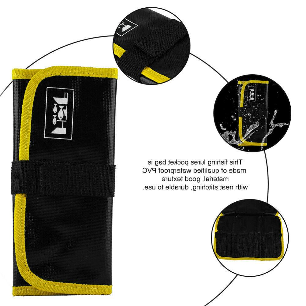 PVC Fishing Tackle Tools Bags Tackle Accessory