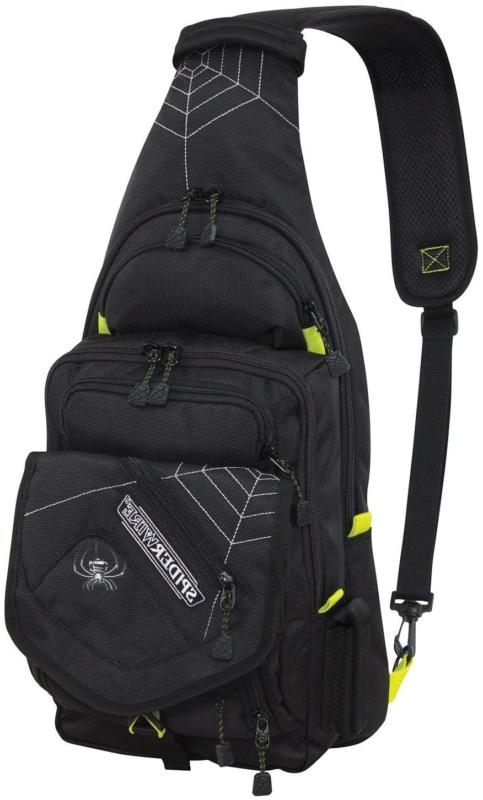 sling fishing backpack tackle bag with tackle