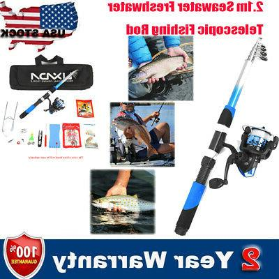 fishing tackle set 2 1m fiberglass fishing