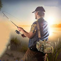 Large Capacity Fishing Bag Multi-functional Tackle Pack Outd