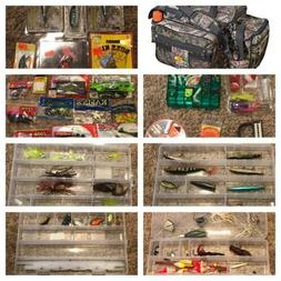 NEW BASS PRO SHOPS EXTREME QUALIFIER 370 CAMO TACKLE BAG WIT