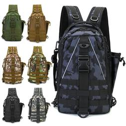 NEW Fishing Bag Tackle Storage Outdoor Shoulder Backpack Cro