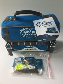 NEW PLANO FIN COMMANDER 3600 TACKLE BAG WITH UTILITY BOX AND