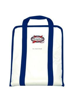 NEW Raw Accessories USA White Vinyl Soft Sided Tackle Bag Wi