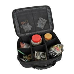 Outdoor Black Fishing Reel Storage Bag Fly Tackle Lure Line