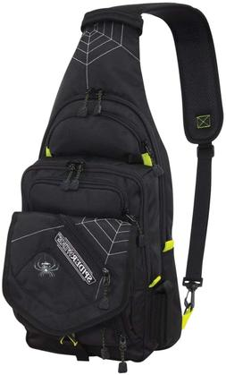 ~~SpiderWire Sling Fishing Backpack Tackle Bag With Tackle B