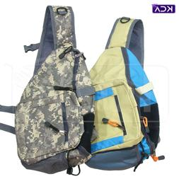 Sling Pack for Fly-Fishing with Tippet Holder, fishing vest,