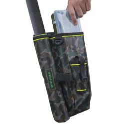 SEAHAWK Tackle Leg-Strap Bag Pack with Rod Holder, Camo - In