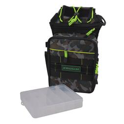 SEAHAWK Tackle Waist Bag Pack with Chest Strap, Camo - Inclu