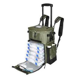 The X-Large 'Recon' Rolling Fishing Backpack, Tackle Box Sto