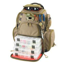 WILD RIVER WT3604 NOMAD TACKLE BAG LIGHTED BACKPACK W/ TRAYS
